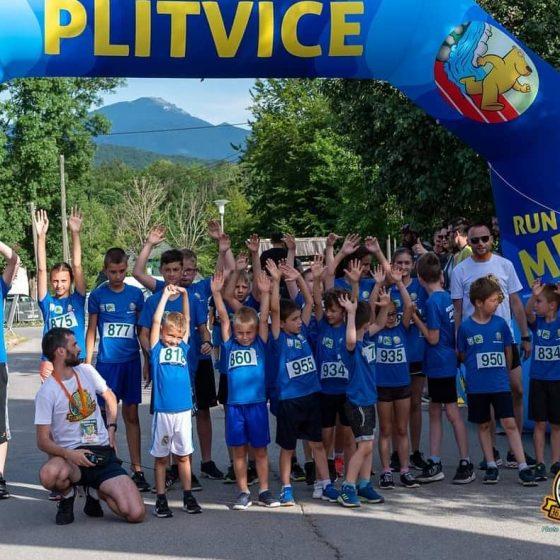 Dječje utrke u sklopu Plitvičkog maratona