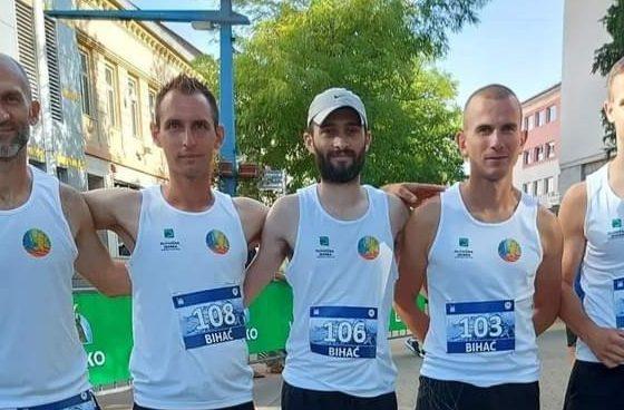 Zlato i Bronca u Bihaću na 7.utrci stazama Brane Veršića na 12 km na jako teškoj stazi!